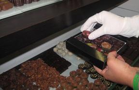 livraison de chocolats artisanaux