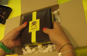 Vos chocolats livrés avec soin
