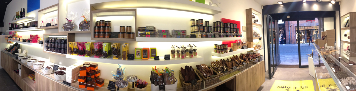 magasin Tete de Cabosse à Toulouse, rue Lafayaette